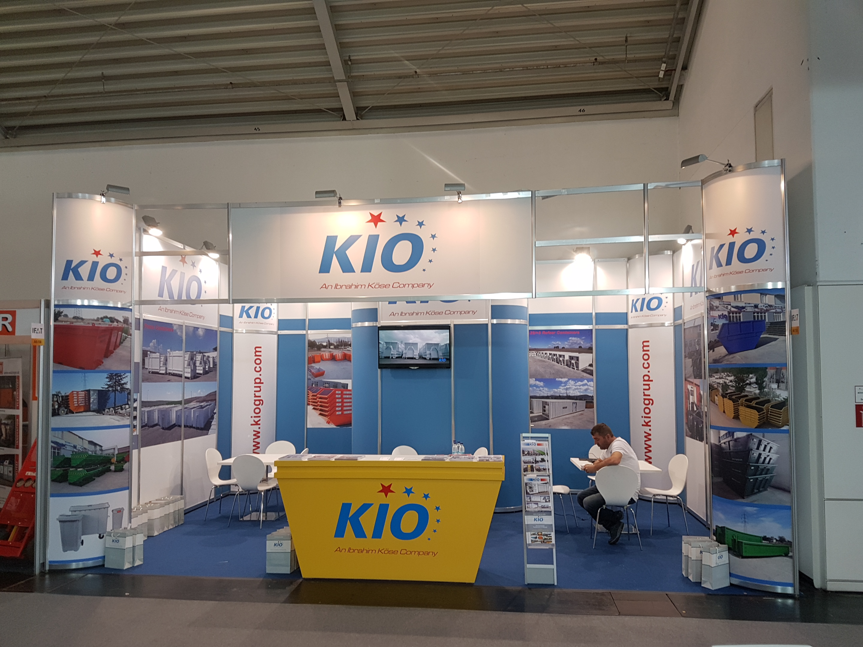 We were in IFAT 2018 between 14th and 18th May in Munich, Germany.