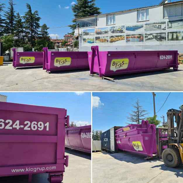Barbados , Delivered 18 Yard Dumpsters