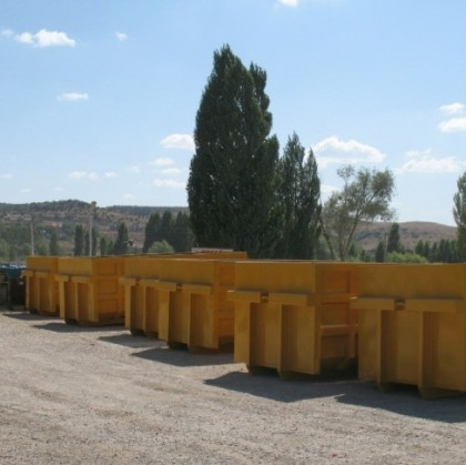 KIO delivered 40 pcs Roll containers to GREECE
