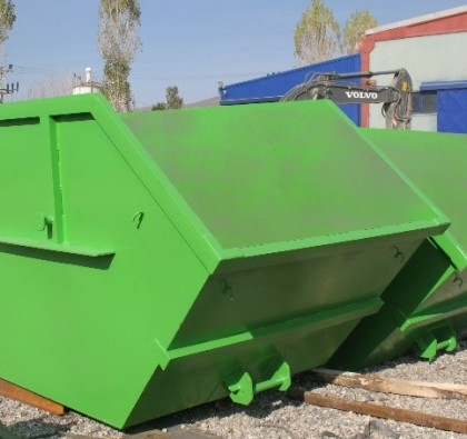 KIO delivered 13 pcs skip containers to GREECE