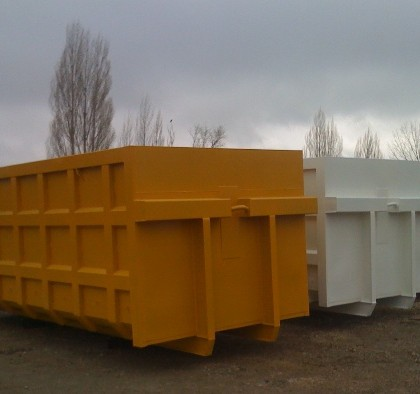 KIO delivered 12 pcs 30 cbm Roll Containers to GREECE