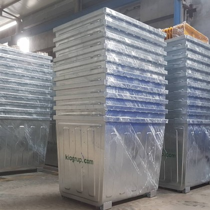 ANGOLA, Delivered 144 pcs Waste Containers