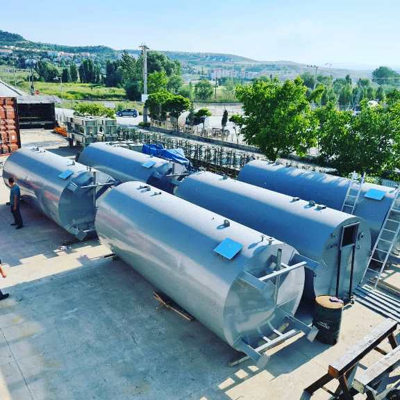 NETHERLANDS, Delivered Turn-Key Oil Recycling Plant Tanks, Shredder, Workshop containers
