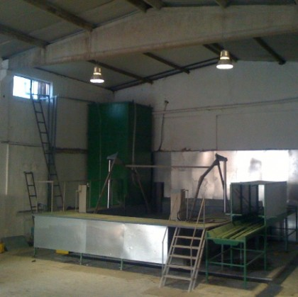 KIO delivered Turn-key Used Cooking Oil Recycling Plant. 2012