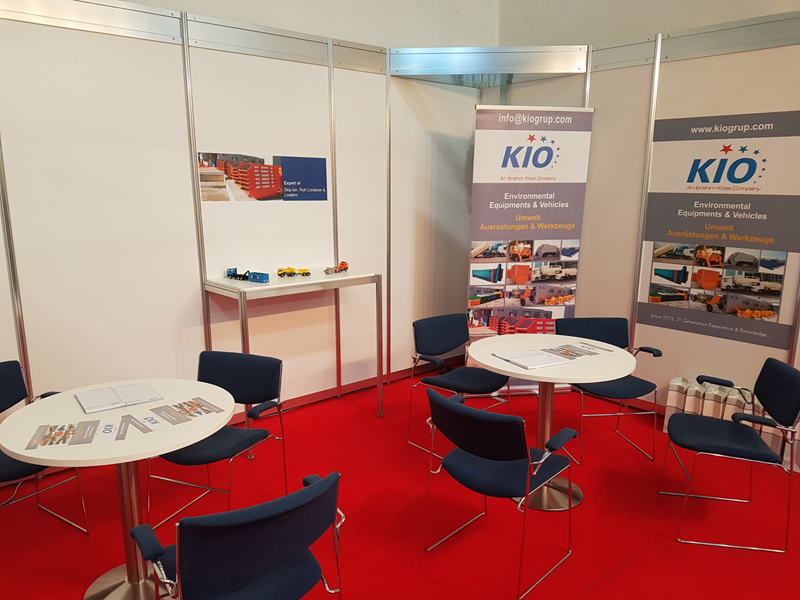 Between 30th May and 03th June 2016, KIO has stand on B2-539 no of IFAT fair which is World's Leading Fair for Environmental Technologies in Germany.