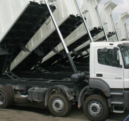 KIO delivered 10 pieces Trucks for AZERBAIJAN.