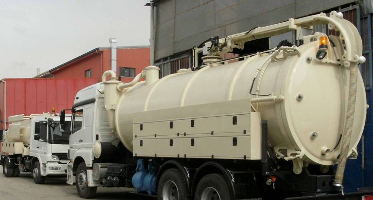 KIO delivered Trucks of Jetting unit for Baghdad, IRAQ